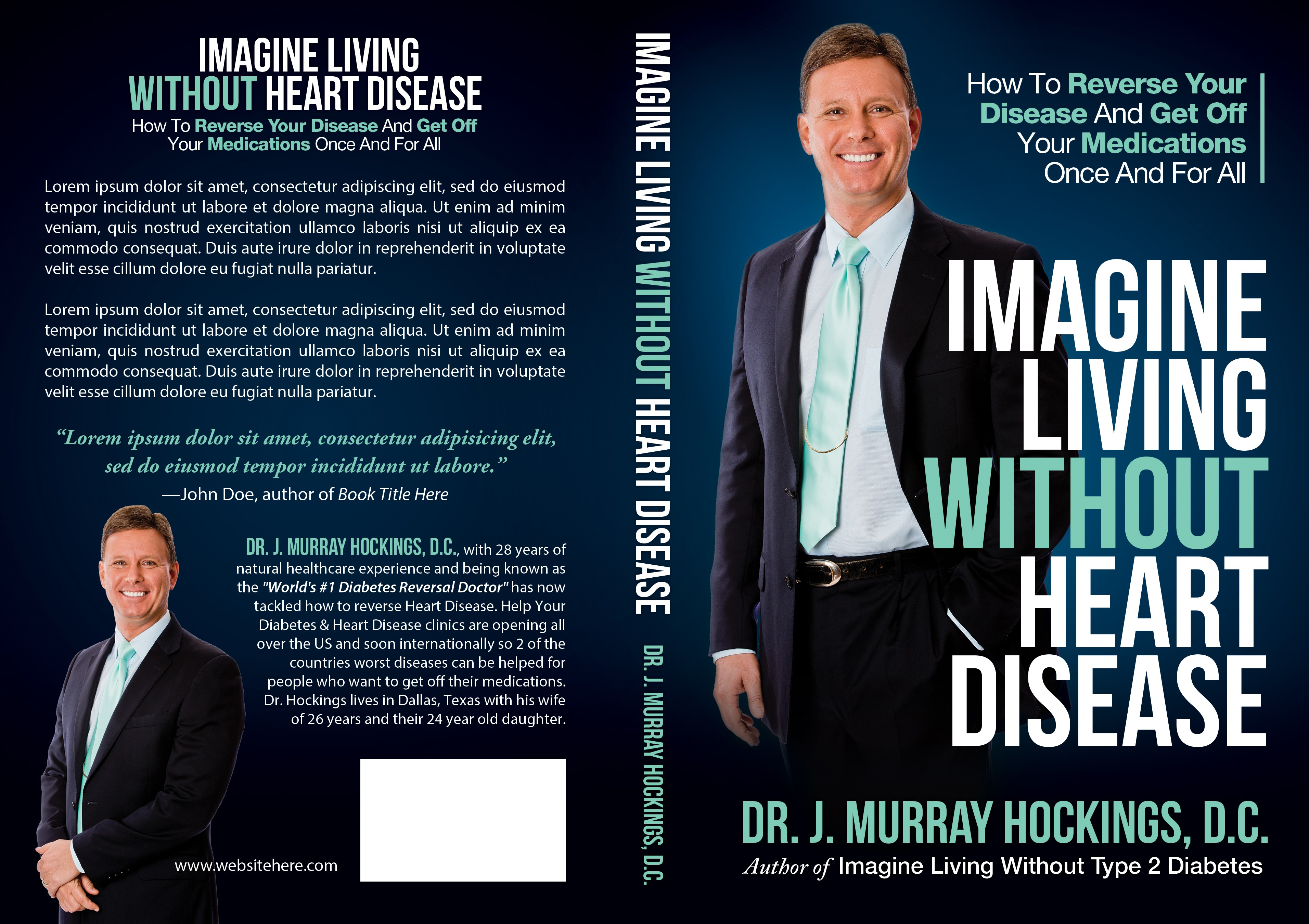 Book cover needed for Heart Disease reversal book