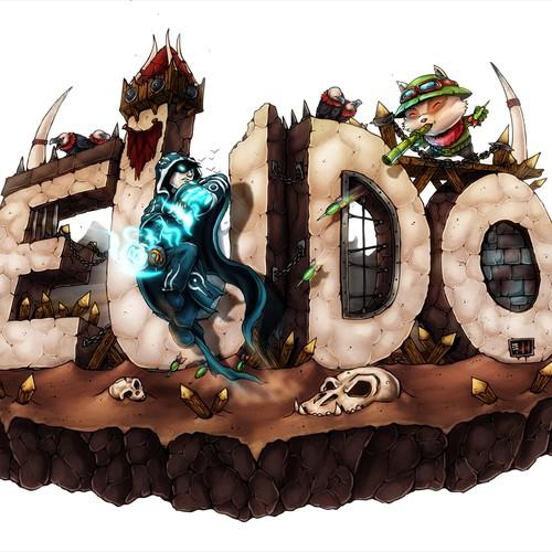 Handdrawn Logo design for Eudo