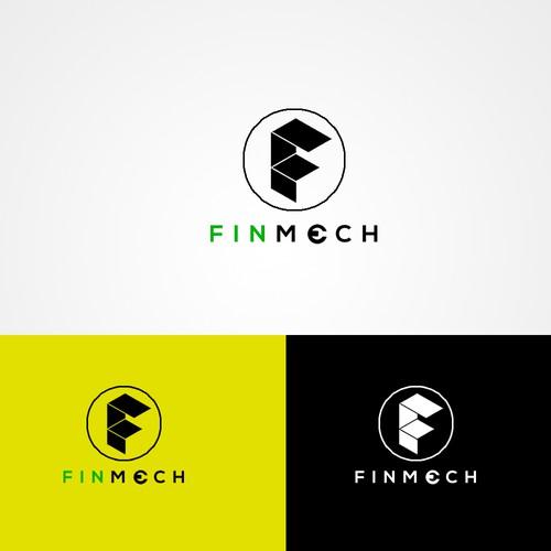 FINMECH design logo