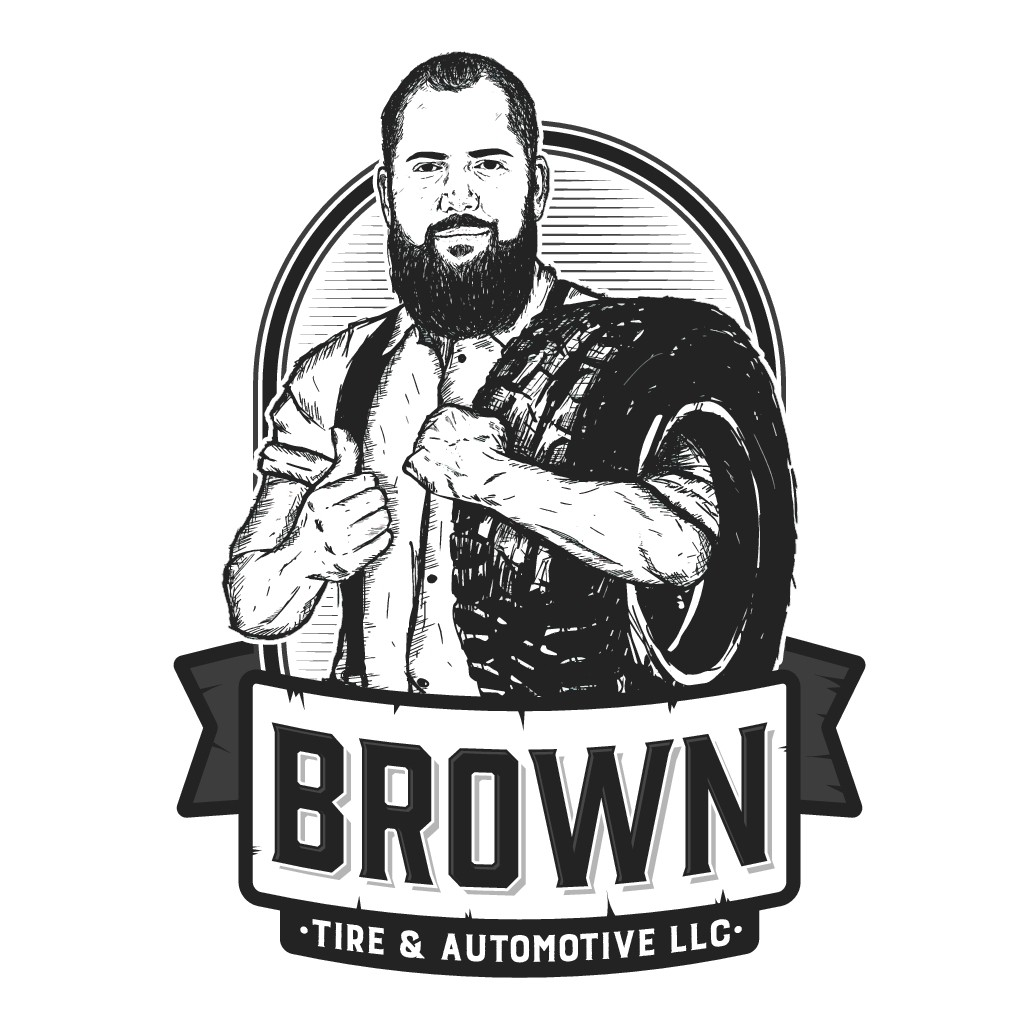Brown Tire