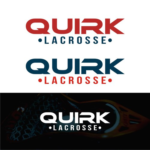 logo concept QUIRK LACROSSE
