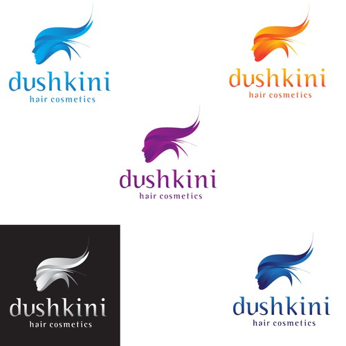 Dushkini hair cosmetics - A unique and exceptional logo by me