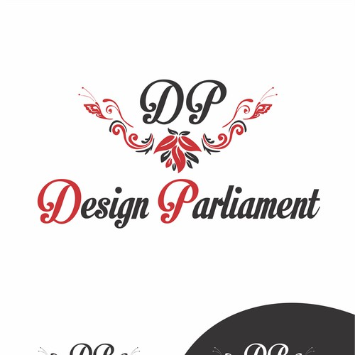 Create the next logo for DESIGN PARLIAMENT