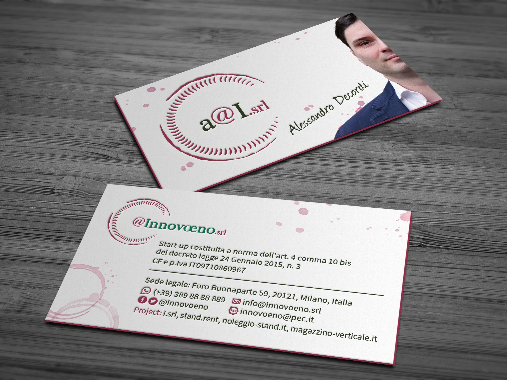 The most innovative Business card!