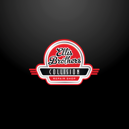 Vintage logo concept for Ellis brothers