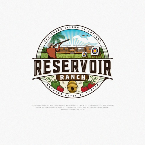 Logo Design for Reservoir Range