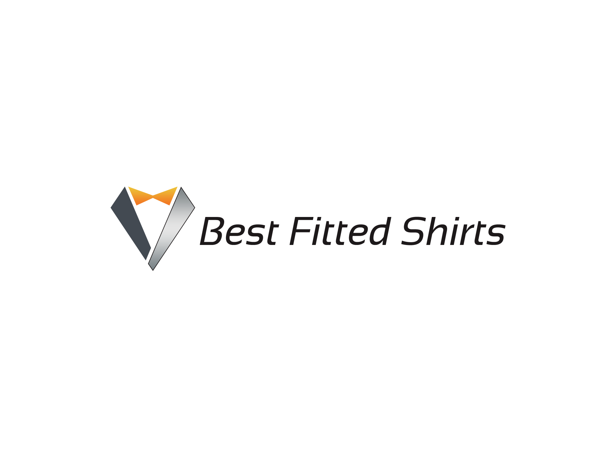 Best Fitted Shirts.com Logo!