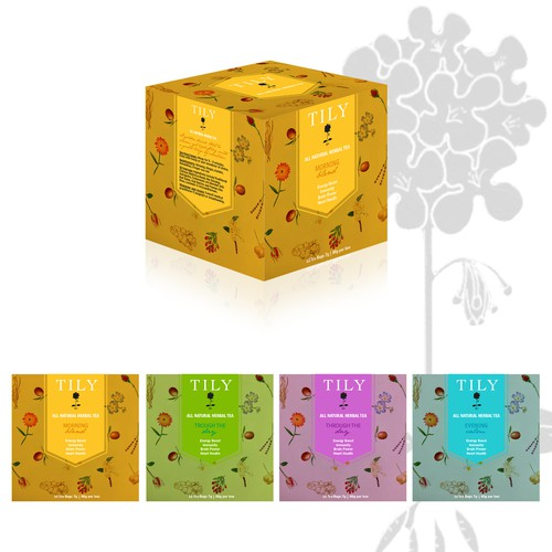 Tily Herbal Tea Packaging