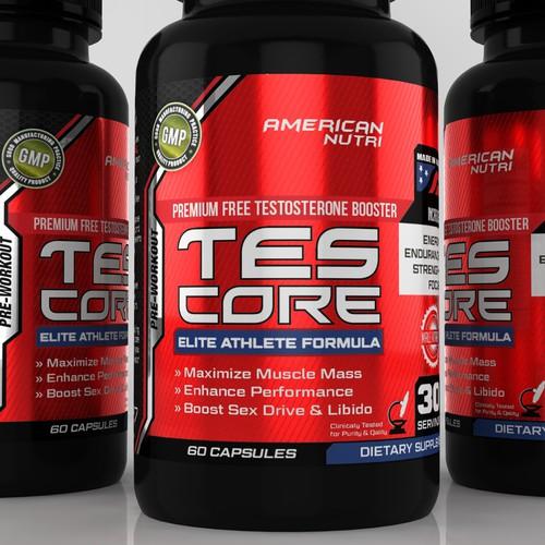 TES-CORE Label Design