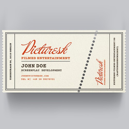 Picturesk Business Card