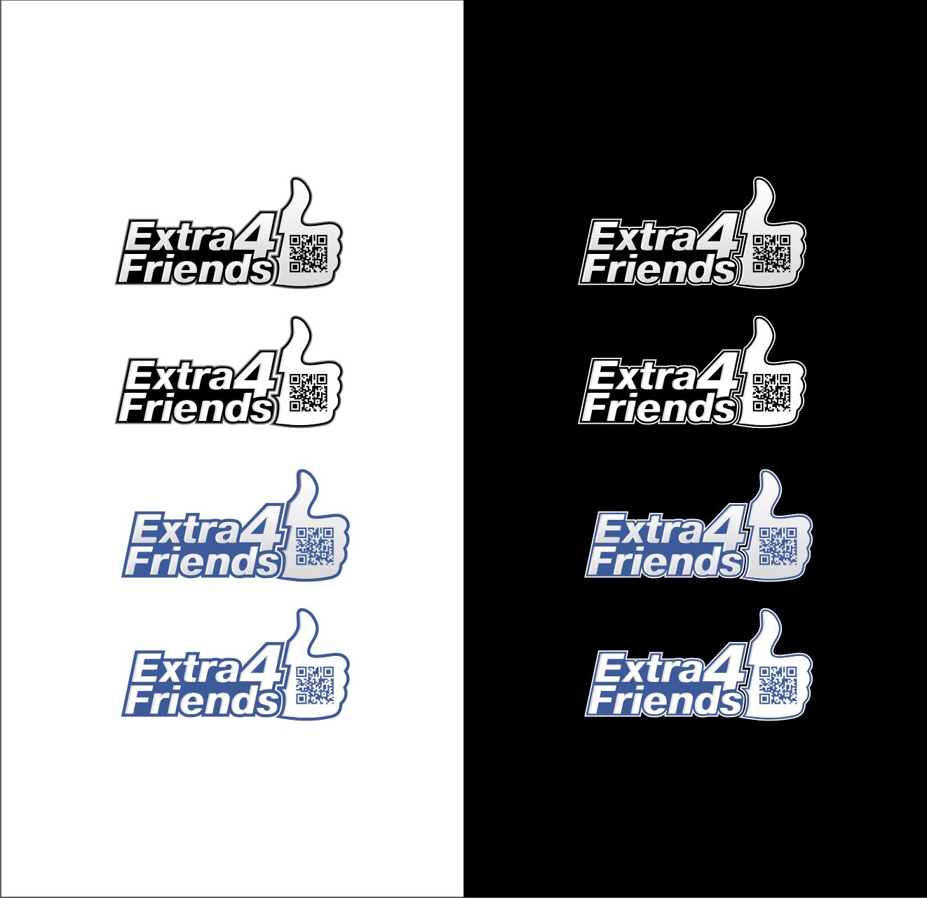 Extra4Friends logo