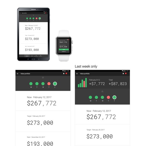 Finance Android app