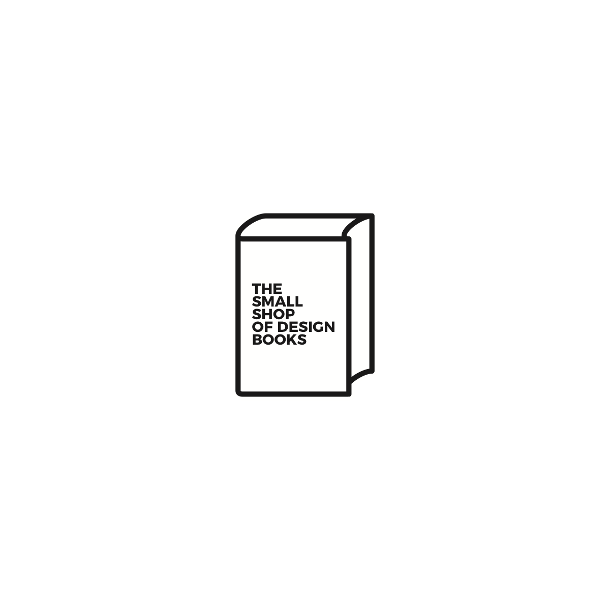 Logo for our bookshop . . . THE SMALL SHOP OF DESIGN BOOKS