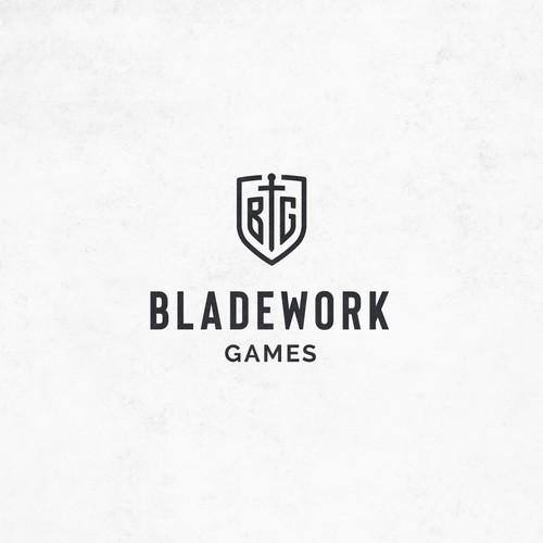 logo concept for a a gaming studio