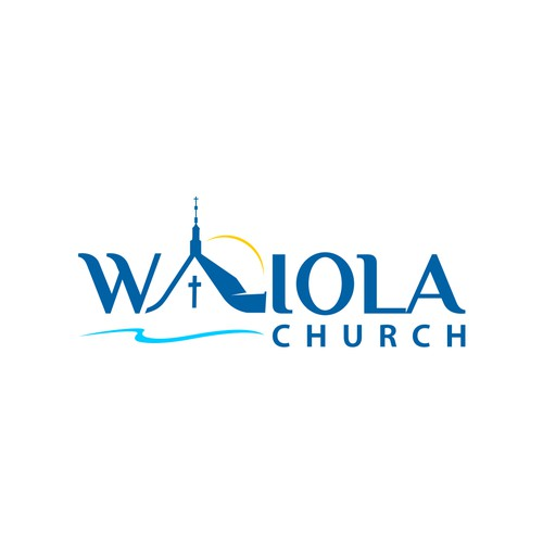logo concept for WAIOLA CHURCH