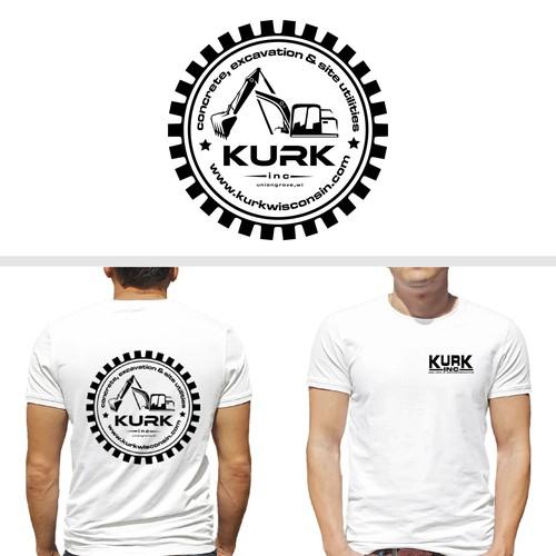 T-Shirt Design for Kurkwisconsin.com