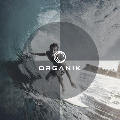 organic logo concept