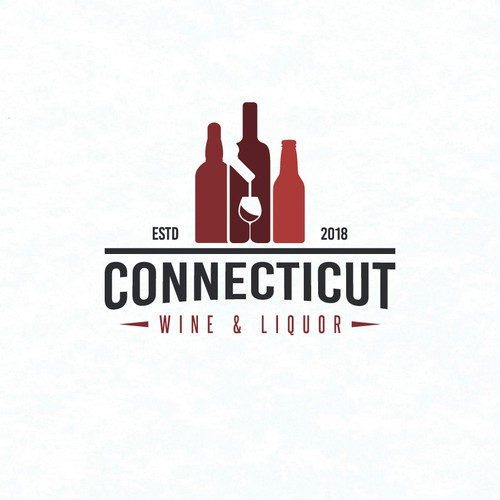 Logo for a liquor store that sells a variety of beer, wine and spirits