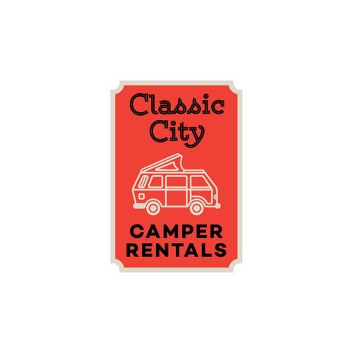 Vintage style for camper rental