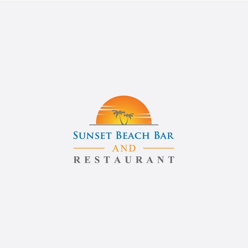 Jimmy Buffett style beach bar on the bay and seafood house