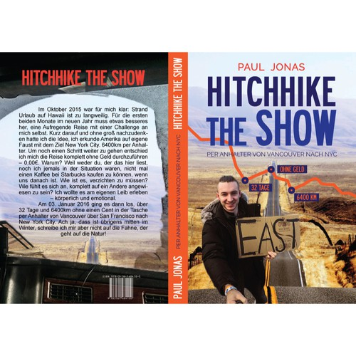 Book cover for Hitchhike the show
