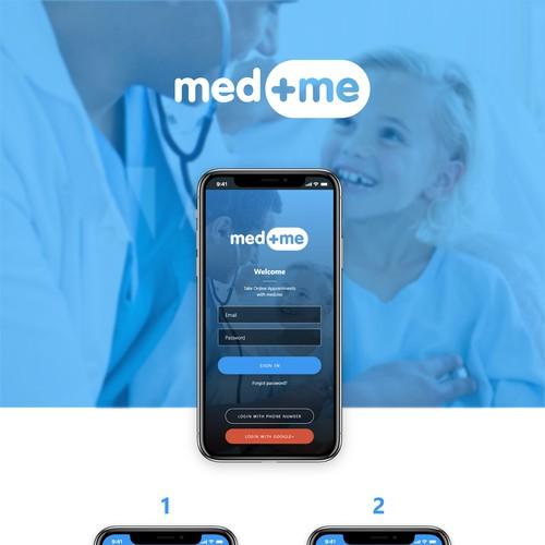 MedMe App UI UX Design
