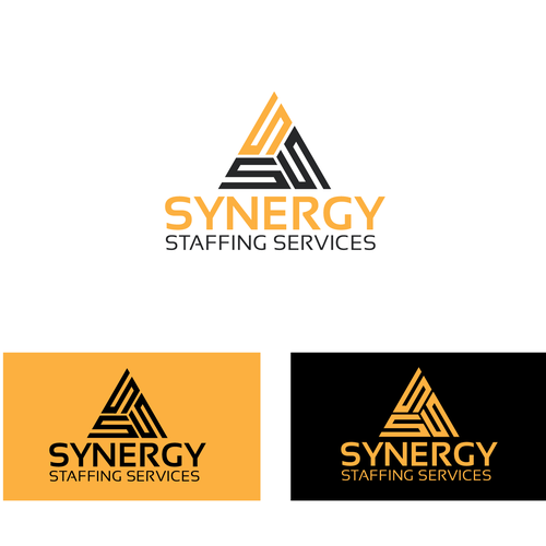 Startup Healthcare Staffing Company Logo Branding