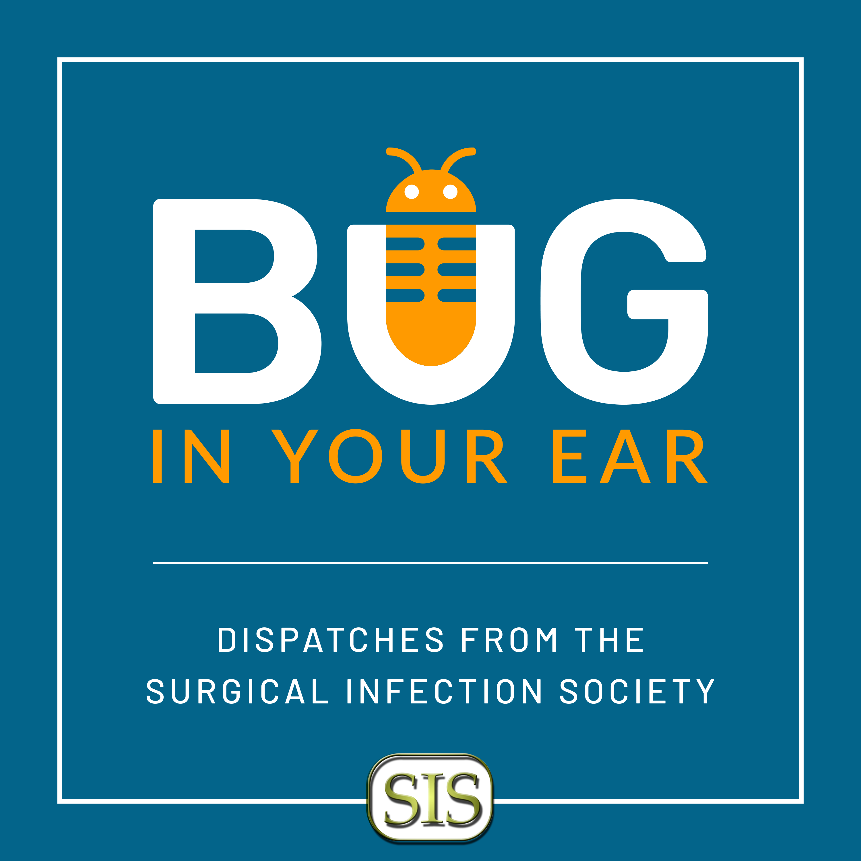 Podcast logo for the new Surgical Infection Society podcast