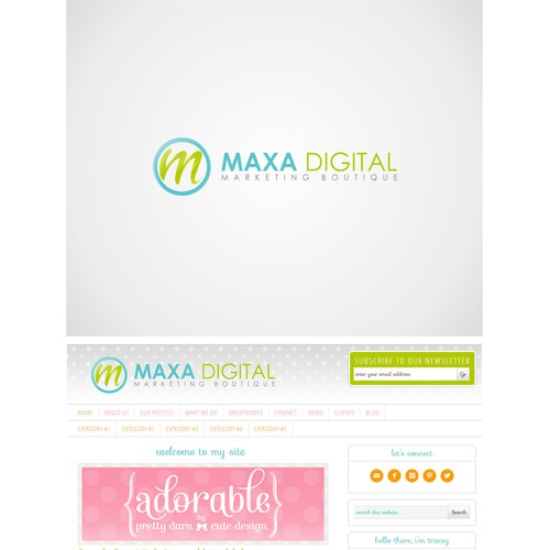 Create the perfect Logo for MAXA Digital