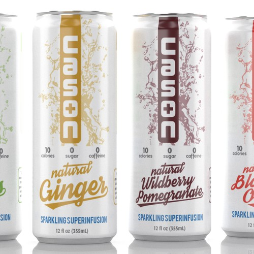 Cason 'Superinfused' Sparkling Beverage