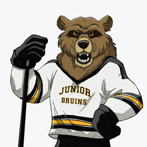 Hockey team mascot design