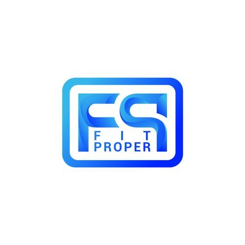 Fit Proper Logo Concept