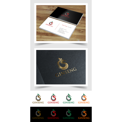 Create a Logo for a startup Ginseng (Dietary Supplement) Company