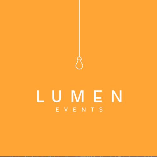 Design a logo full of light for Lumen Events