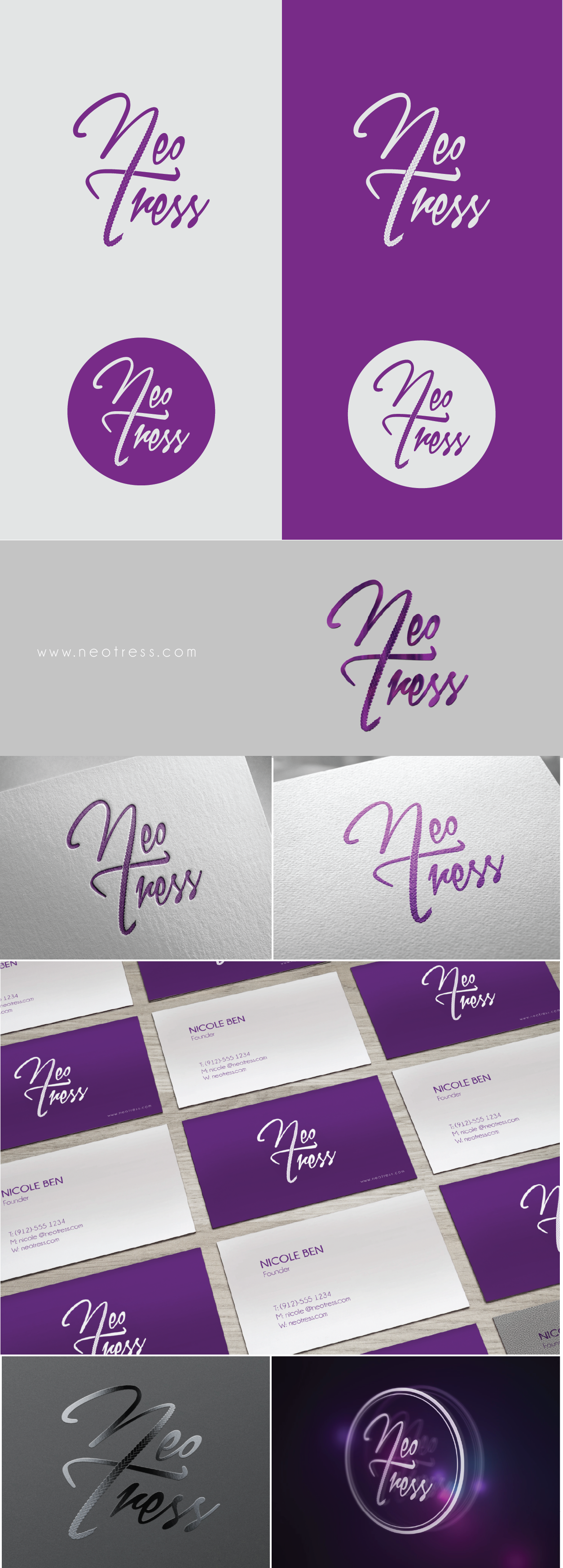 Create a captivating and beautiful logo for a beauty brand!