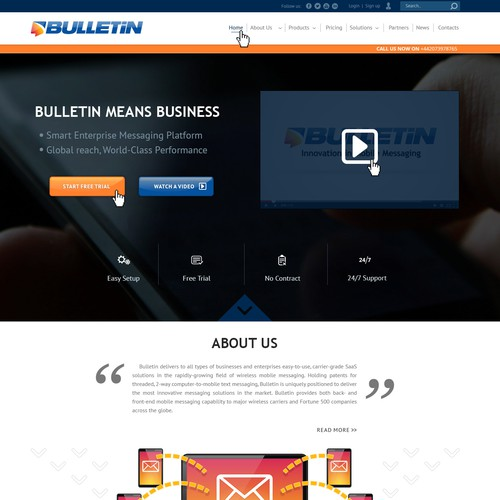 Bulletin.net's New Home Page