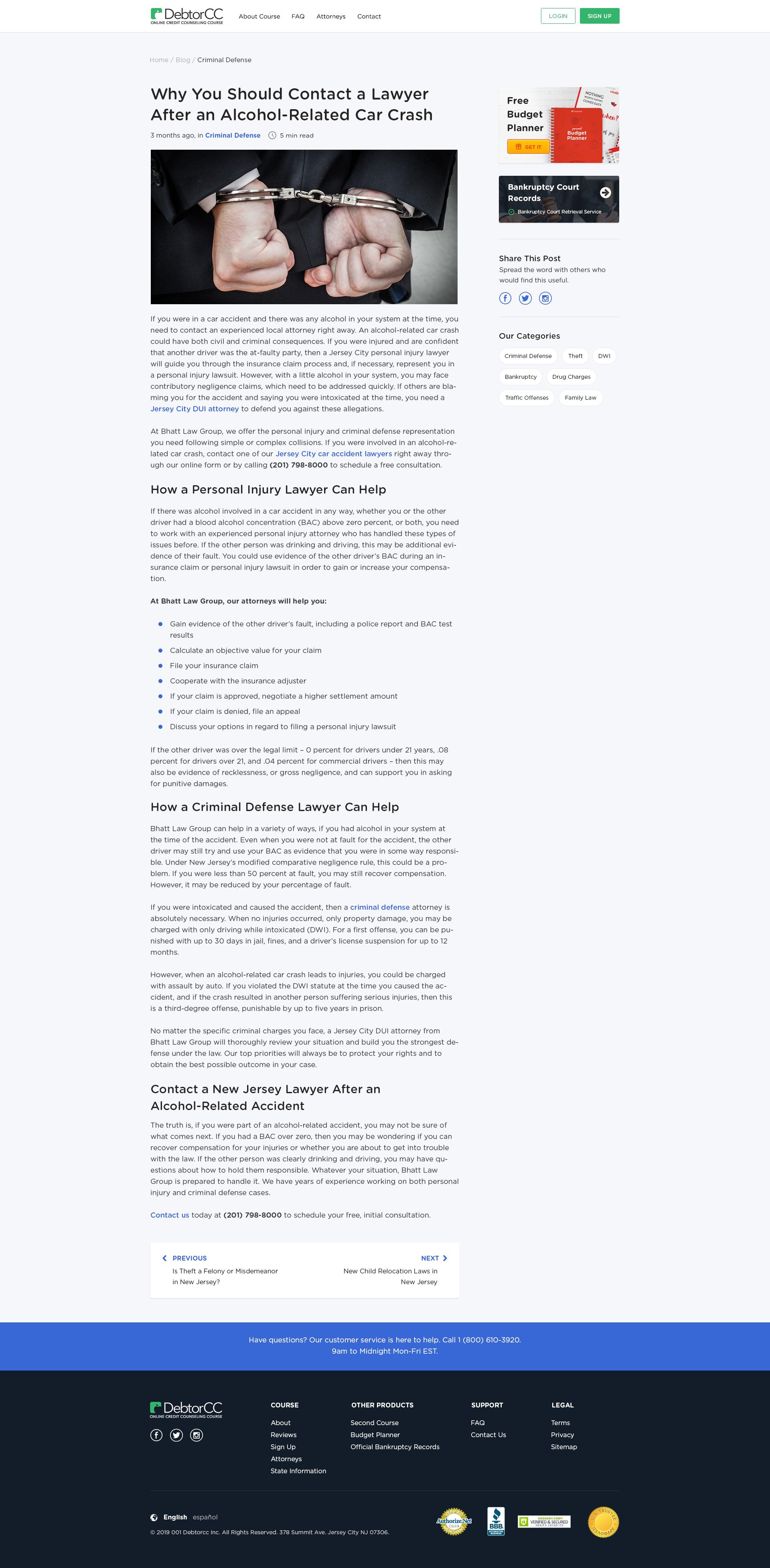 Blog pages for DebtorCC/DebtorEdu