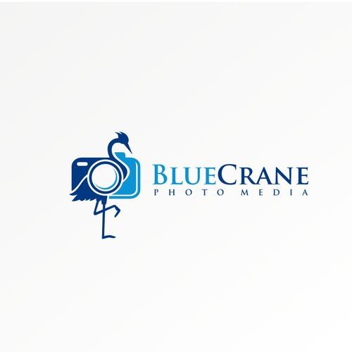 Logo for Blue Crane Photo Media