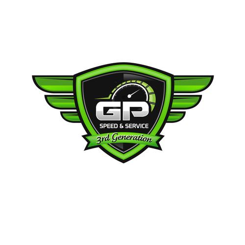 GP Speed & Service logo
