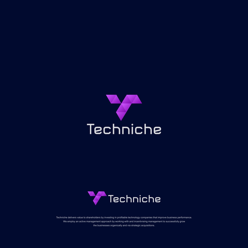 Logo and Jimdo website for Techniche