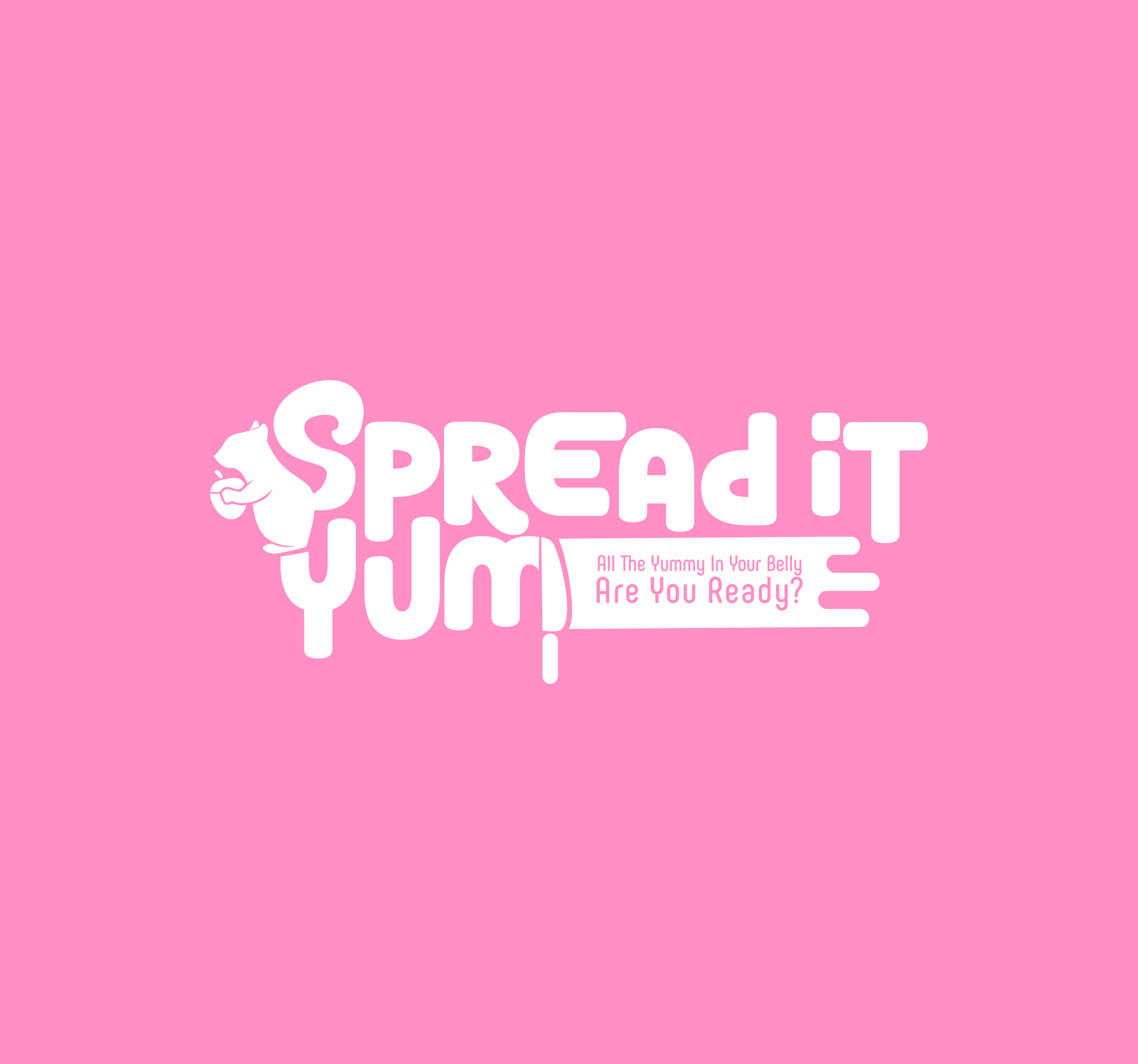 SpreaditYum wants a logo that is unique and fun to look at