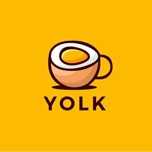logo concept for YOLK