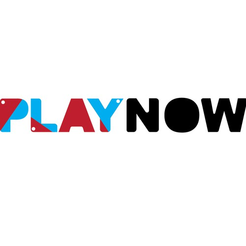 Submitted Logo for Play Now sensory toy company