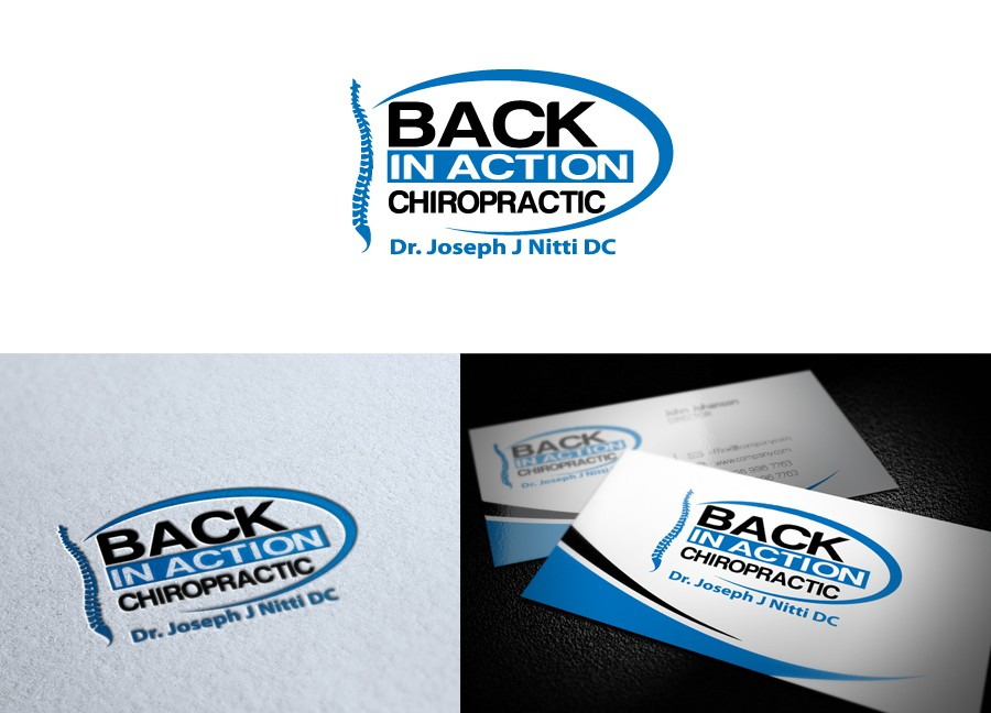 BACK IN ACTION CHIROPRACTIC needs a new logo