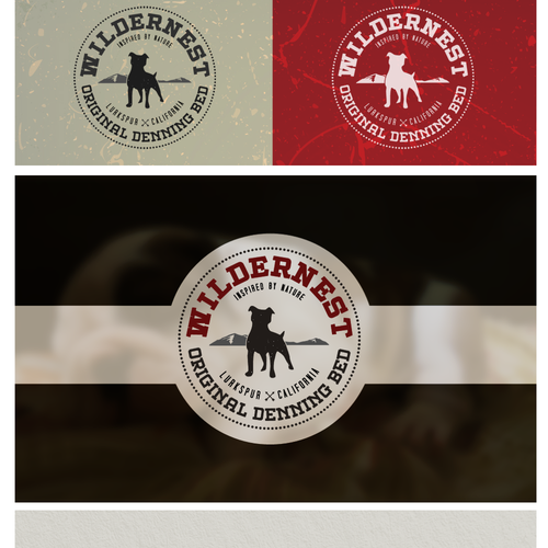 Retro Logo for Wildernest
