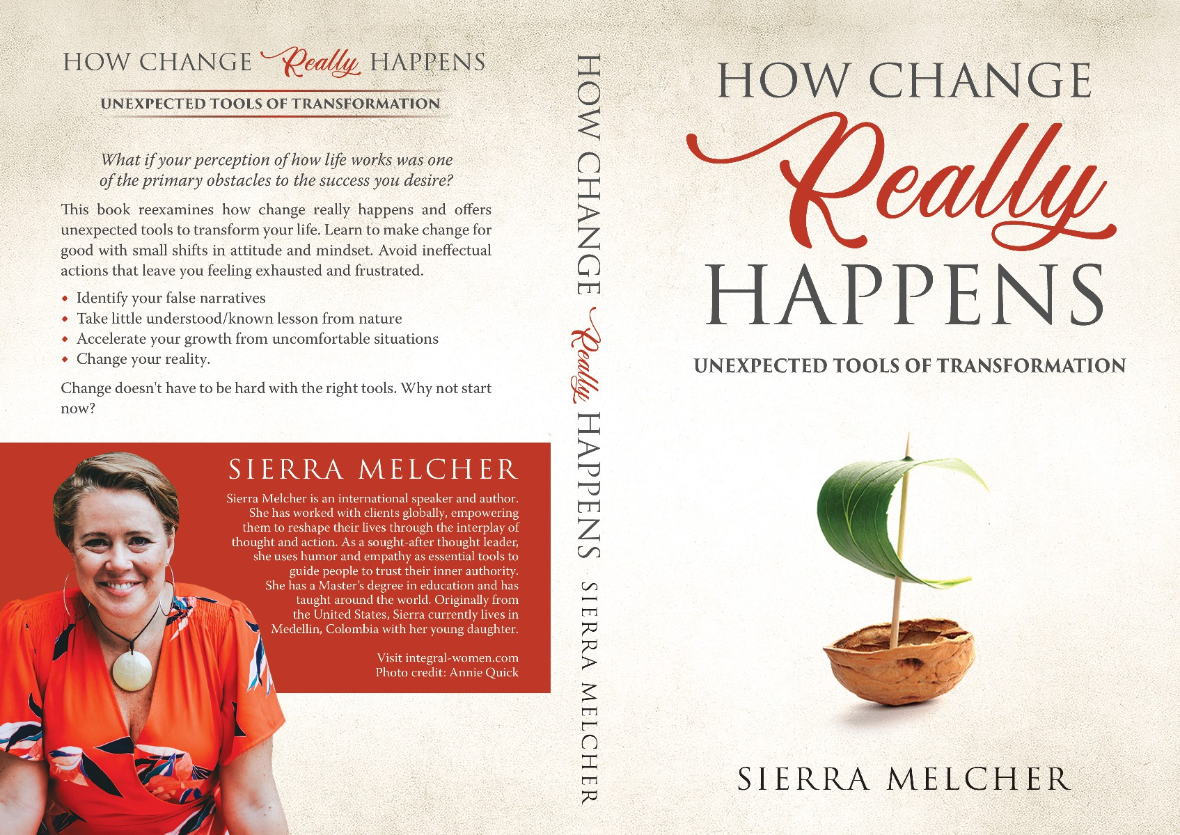 Book cover How Change REALLY happens  -unexpected personal transformation tools
