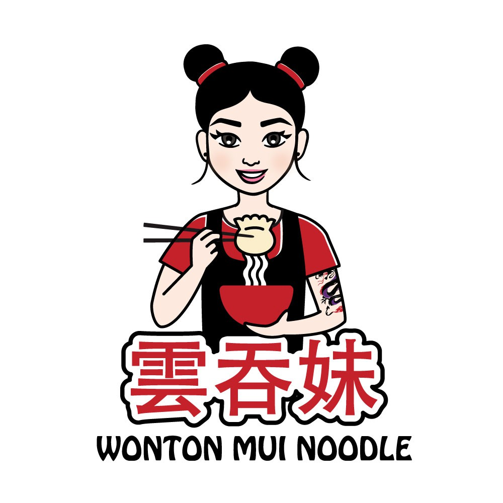 Logo design for Wonton Mui Noodle