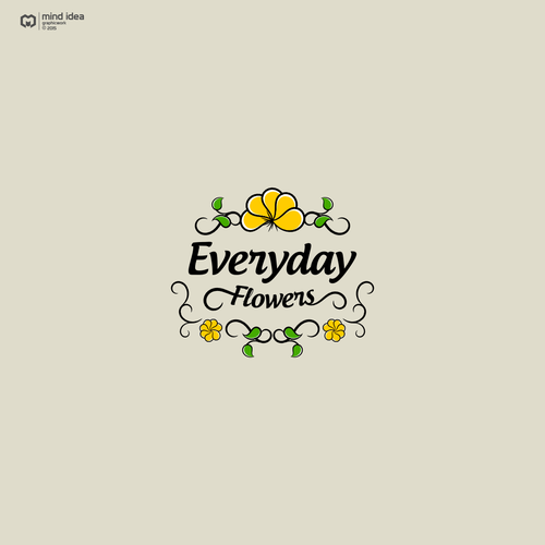 Logo design for Everyday Flowers