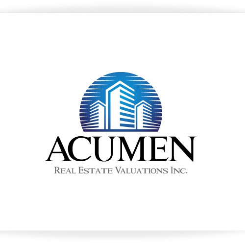 New logo wanted for Acumen Real Estate Valuations Inc.