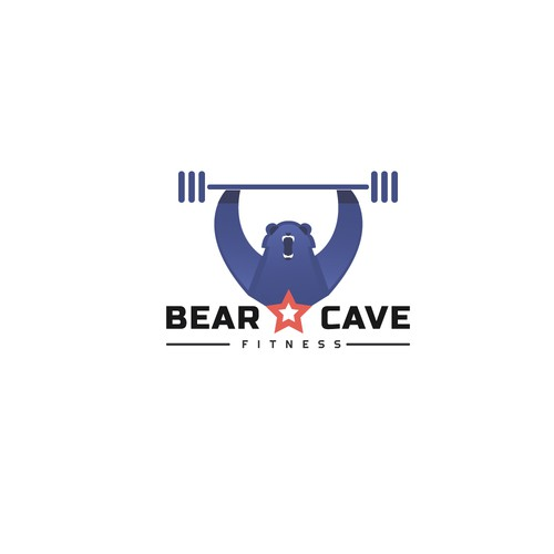 Bearcave fitness logo